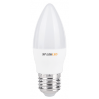 Светодиодная лампа Sparkled CANDLE C37 5Вт 3000K E27 (LLS37-5E-30-27)