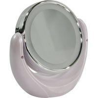 Настольное зеркало Smartbuy с LED подсветкой 007/5+ Pearl (SBL-Mr-007-Pearl)
