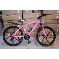 Велосипед BMW X1 26'' литые диски, оборудование Shimano, цвет розовый