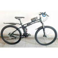 Велосипед горный LAND ROVER green bike 26'' спицы, оборудование Shimano, цвет черный матовый