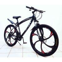 Велосипед BMW X1 26'' литые диски, оборудование Shimano, цвет черный