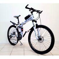 Велосипед горный LAND ROVER green bike 26'' спицы, оборудование Shimano, цвет белый