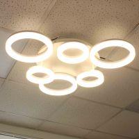 Светодиодная люстра (LED) Smartbuy303-65W/W(SBL-СL-65W-303-White)