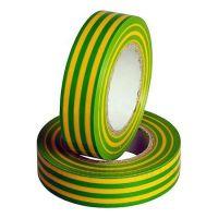 Изолента Smartbuy,  0.13х15мм, 10 метров, желто-зеленая (SBE-IT-15-10-yg)