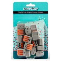 Строительно монтажные клеммы с рычагами 3 отверстия, розничная упаковка (SBE-cwcc-3-rp)/20