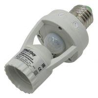 Инфракрасный датчик движения Smartbuy, в патрон E27, 60Вт, до 6м, IP44 (sbl-ms-010)