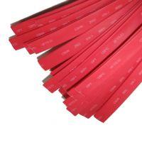 Термоусаживаемая трубка 10/5, красная, 1 метр (SBE-HST-10-r)