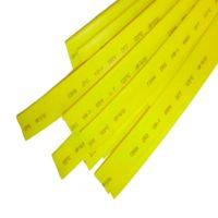Термоусаживаемая трубка 12/6, желтая, 1 метр (SBE-HST-12-y)
