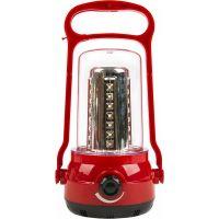 Аккумуляторный кемпинговый фонарь 35+6 SMD, красный (SBF-36-R)/30