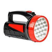 Аккумуляторный фонарь-прожектор 12+9 SMD, черный (SBF-401-1-K)/48