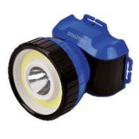 Аккумуляторный налобный фонарь 1 Вт LED +3 ВТ COB,  Smartbuy (SBF-HL5C)/120