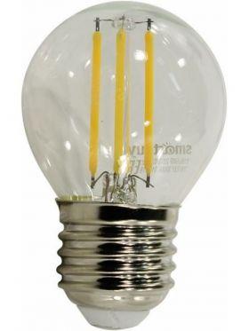 Светодиодная (LED)FIL Матовая Лампа Smartbuy-G45-07W/4000/E27 (SBL-G45F-Мат-7-40K-E27)
