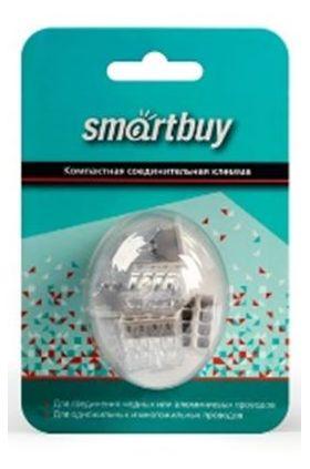 Строительно-монтажная клемма, 8 отверстий, розничная упаковка (SBE-pwco-8-rp)/8