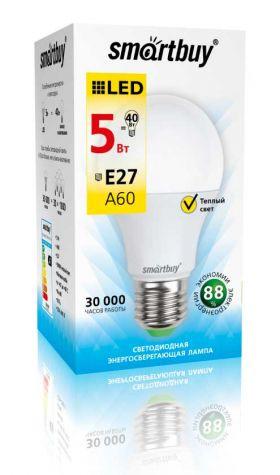 Светодиодная (LED) Лампа Smartbuy-A60-07W/6000 (SBL-A60-07-60K-E27)