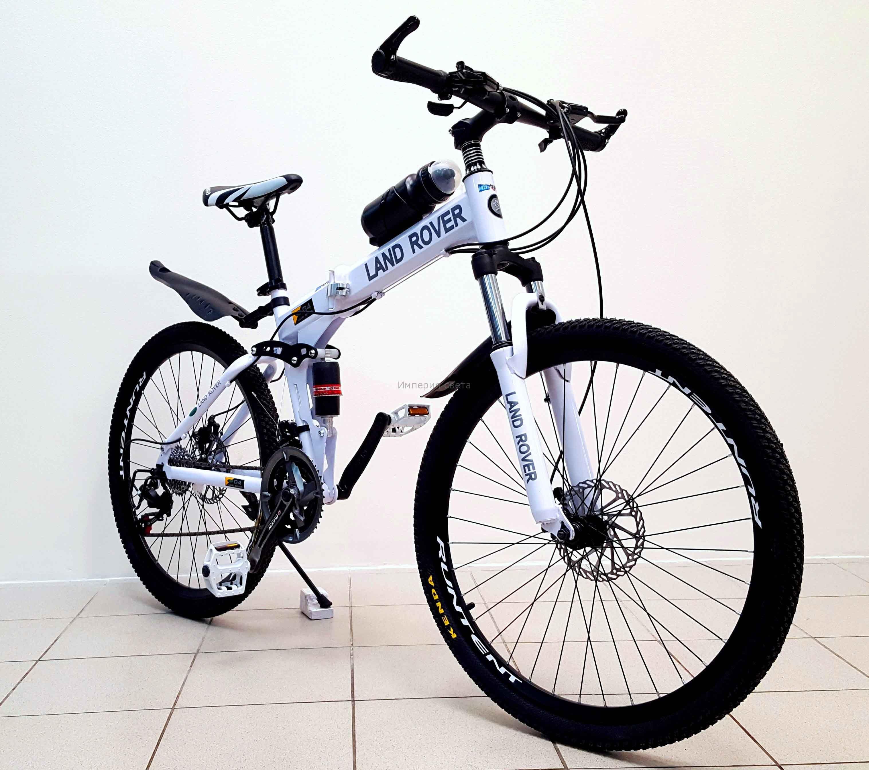 Велосипед горный LAND ROVER green bike 26